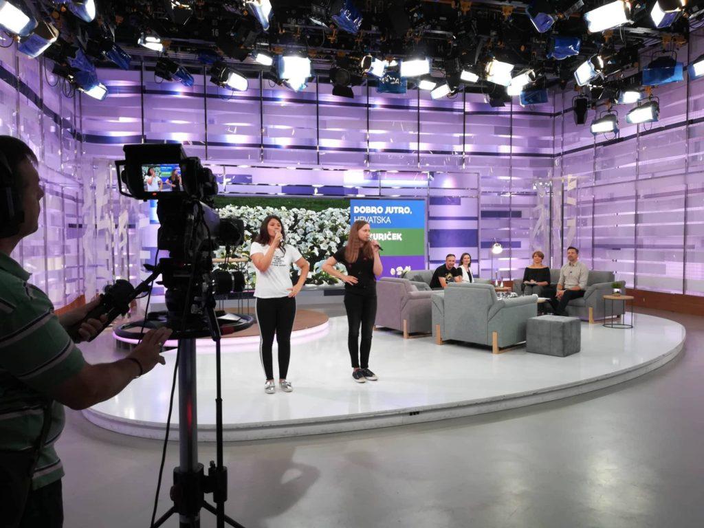 Gostovanje na emisiji Dobro jutro Hrvatska