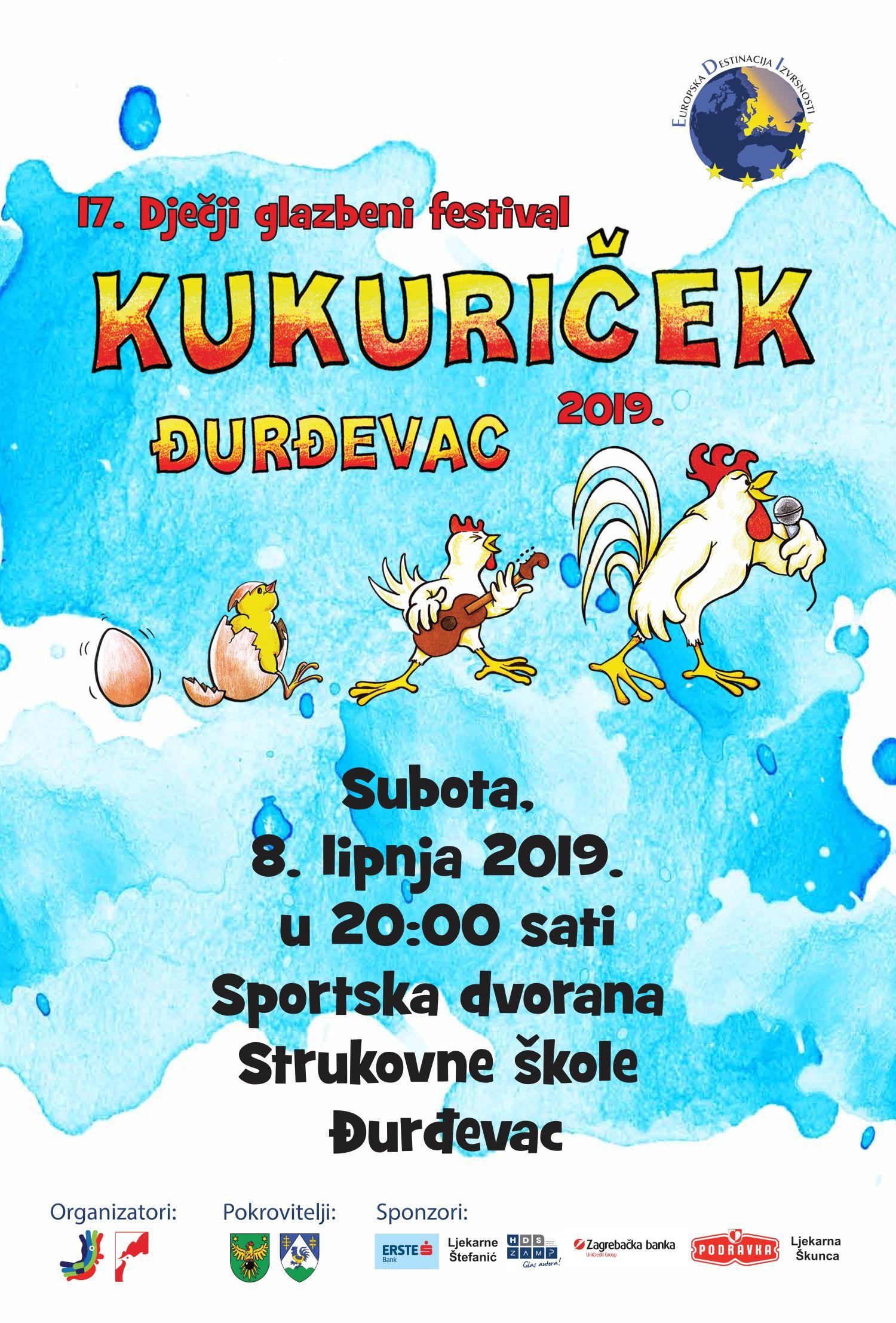Kukuriček 2019. – najava